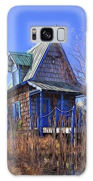 Cottage In The Willows Galaxy Case