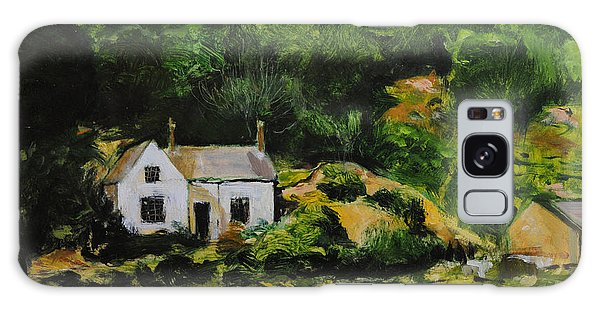 Cottage In Wales Galaxy Case