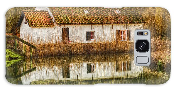 Cottage Reflection Galaxy Case
