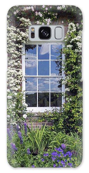 Brick House Galaxy Case - Cottage Window by Joana Kruse