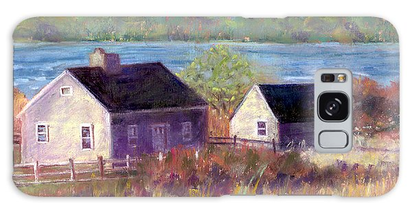 Cottages By The Bay Galaxy Case