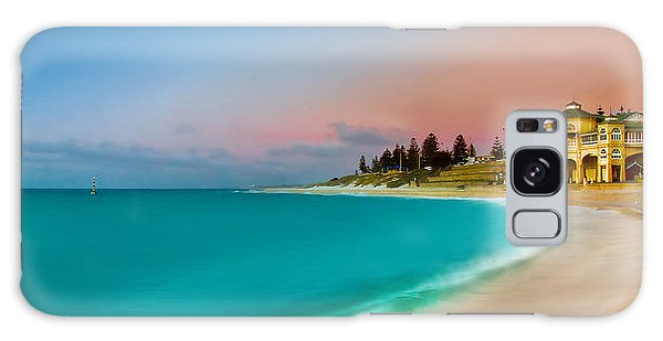 Beautiful Sunrise Galaxy Case - Cottesloe Beach Sunset by Az Jackson
