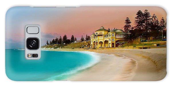 Australia Galaxy Case - Cottesloe Beach Sunset by Az Jackson