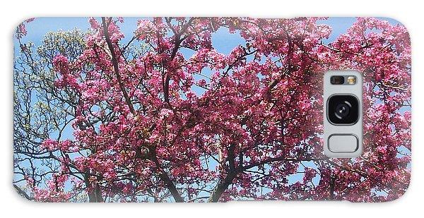 Cotton Candy Tree Galaxy Case by Judith Desrosiers