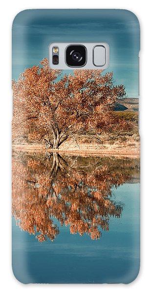 Cotton Wood Tree  Galaxy Case