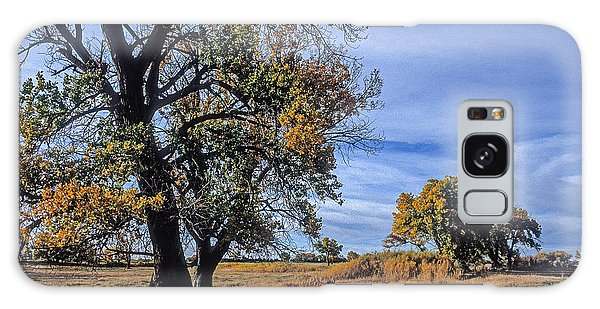 Cottonwood #5 Fall Ranch Colorado Blue Sky Galaxy Case