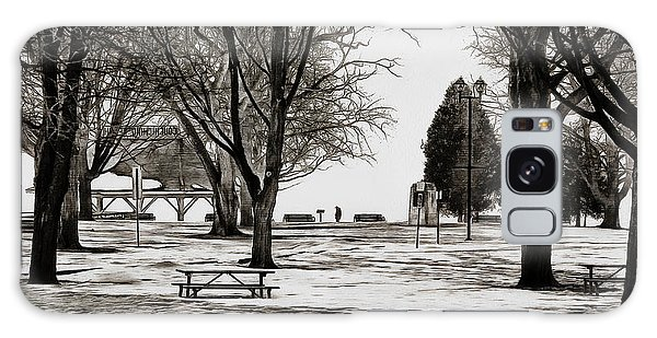 Couchiching Park In Pencil Galaxy Case