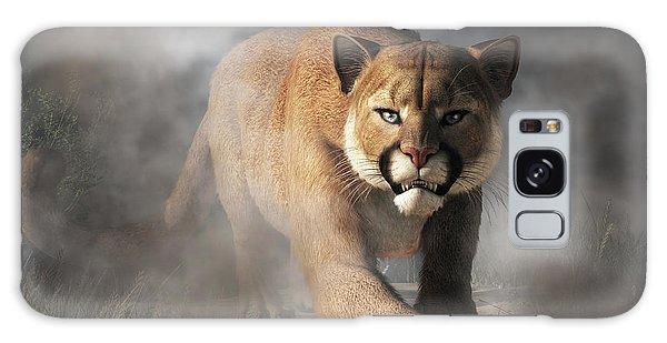 Cougar Is Gonna Get You Galaxy Case by Daniel Eskridge