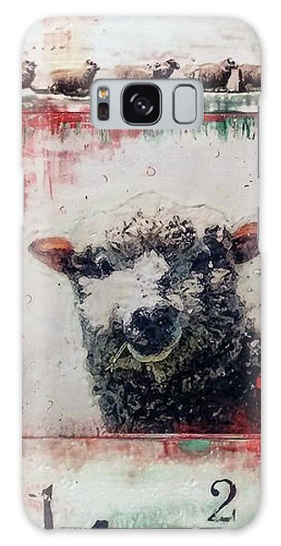 Counting Sheep Galaxy Case by Laurie Tietjen