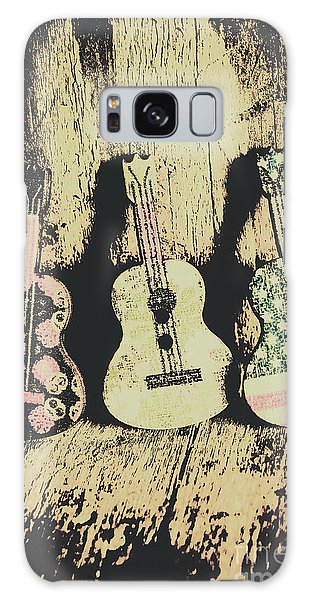 Musical Galaxy Case - Country And Western Saloon Songs by Jorgo Photography - Wall Art Gallery