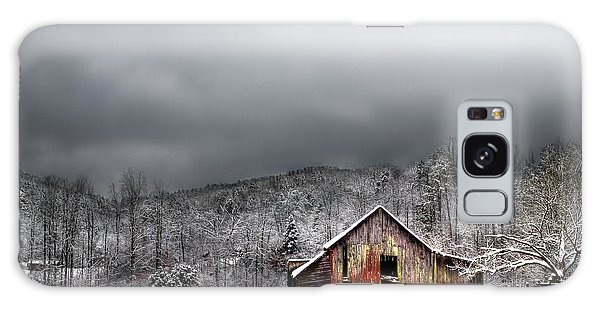 Country Barn In The Smokies Galaxy Case