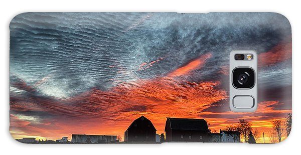 Country Barns Sunrise Galaxy Case