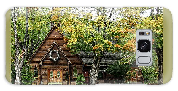 Country Chapel Galaxy Case by Jerry Battle