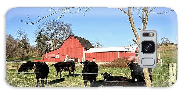 Country Cows Galaxy Case