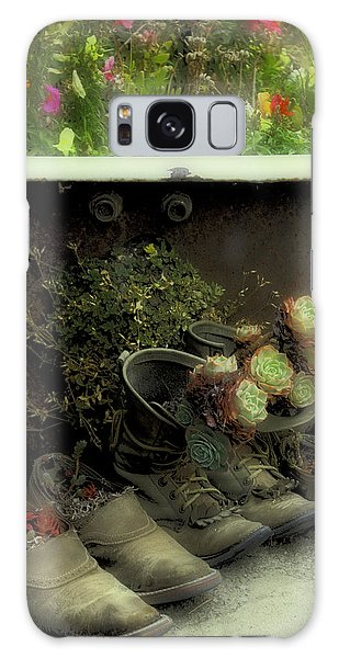 Country Day Spa Galaxy Case by Kandy Hurley