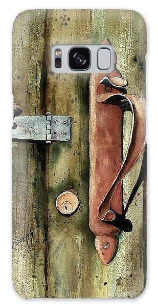 Country Door Lock Galaxy Case