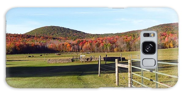 Country Farm And Family Plot Galaxy Case