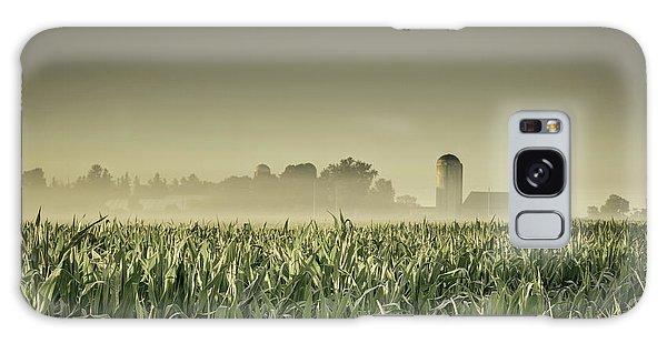 Country Farm Landscape Galaxy Case