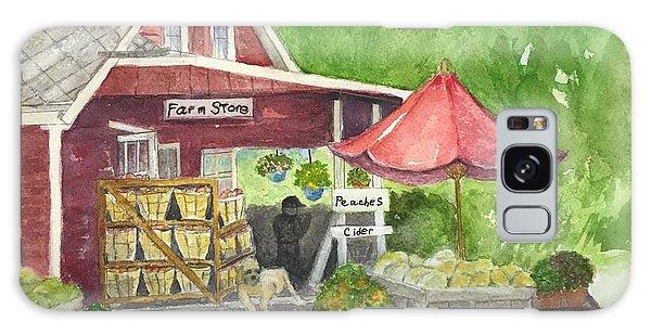 Country Farmer's Market Galaxy Case