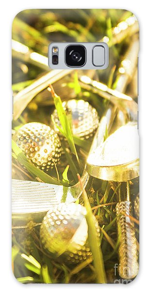 Chrome Galaxy Case - Country Golf by Jorgo Photography - Wall Art Gallery