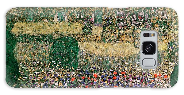 Crt Galaxy Case - Country House By The Attersee by Gustav Klimt