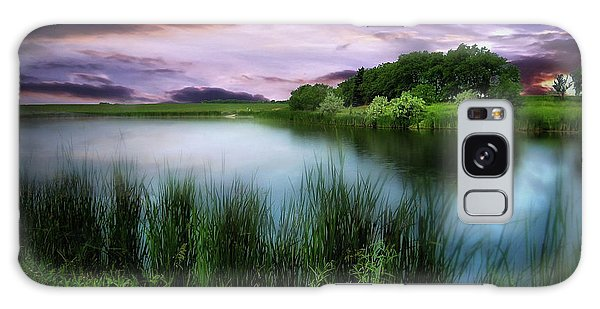 Country Lake Galaxy Case