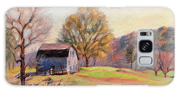 Country Living Galaxy Case - Country Morning by Bonnie Mason