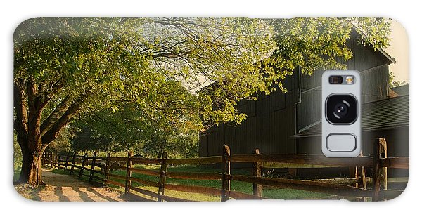 Country Morning - Holmdel Park Galaxy Case