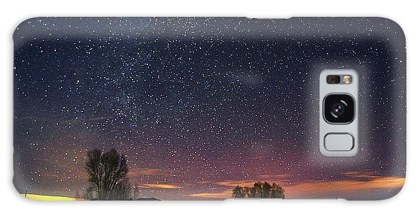 Country Night Life Galaxy Case