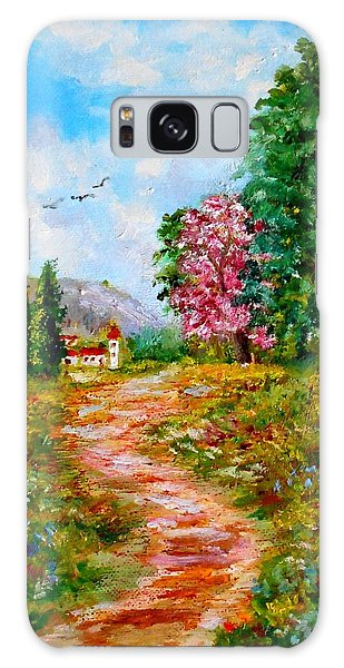 Country Pathway In Greece Galaxy Case
