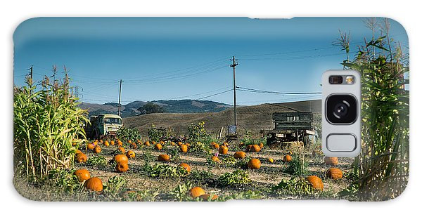 Country Pumpkin Patch Galaxy Case