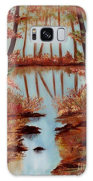 Country Reflections Galaxy Case by Leslie Allen