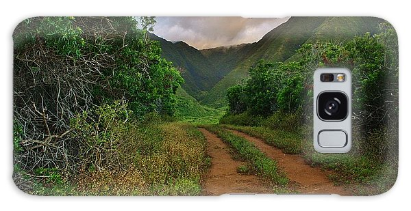 Country Road Kalaupapa, Molokai Galaxy Case