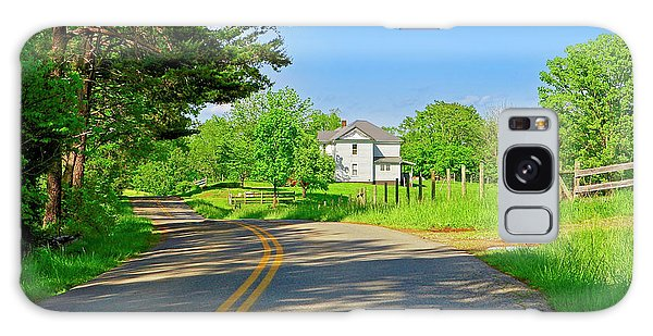 Country Roads Of America, Smith Mountain Lake, Va. Galaxy Case