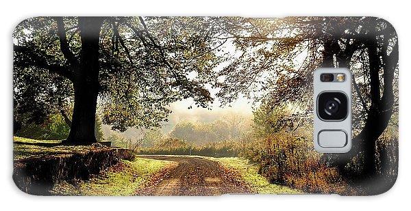 Country Roads Galaxy Case by Ronda Ryan