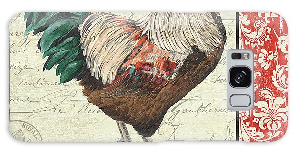 Country Rooster 1 Galaxy Case by Debbie DeWitt
