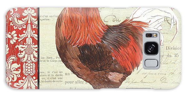 Country Rooster 2 Galaxy Case by Debbie DeWitt