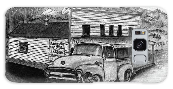Old Truck Galaxy Case - Country Store by Bruce Workman