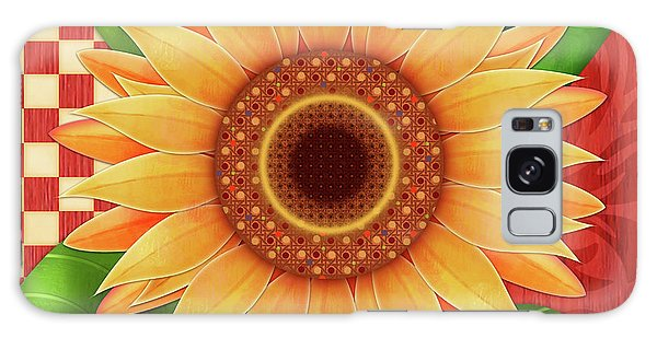 Country Sunflower Galaxy Case