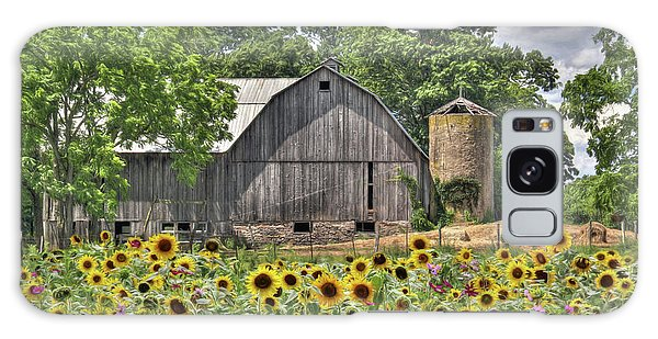 Country Sunflowers Galaxy Case by Lori Deiter