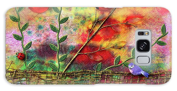 Country Sunrise Galaxy Case by Donna Blackhall