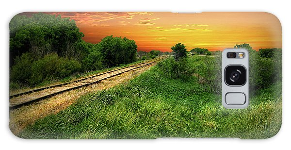 Country Tracks 2 Galaxy Case