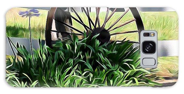 Country Wagon Wheel Galaxy Case