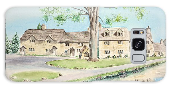 Countryside Cottages Galaxy Case