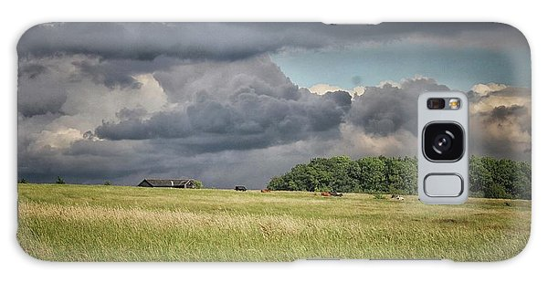 English Countryside Galaxy Case - Countryside Storms by Martin Newman