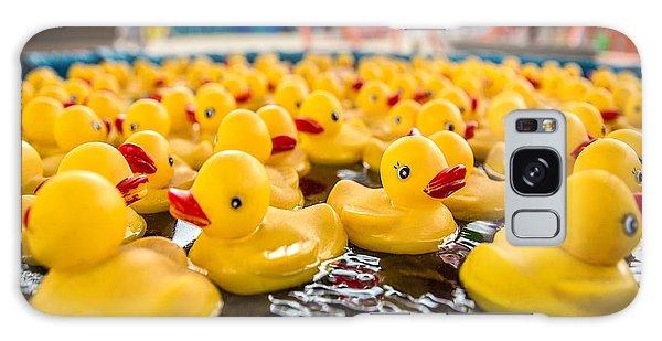 County Fair Galaxy Case - County Fair Rubber Duckies by Todd Klassy