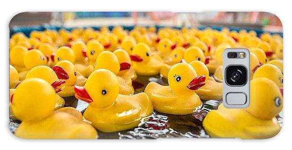 County Fair Rubber Duckies Galaxy Case