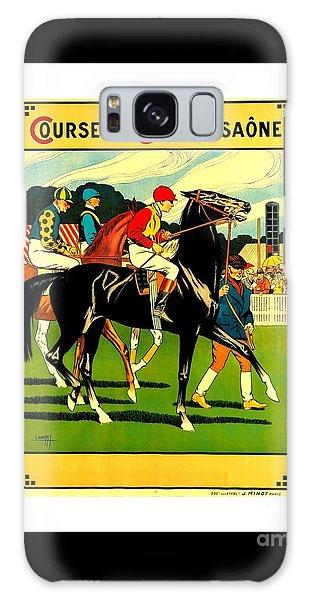Courses De Chalon French Horse Racing 1911 II Galaxy Case