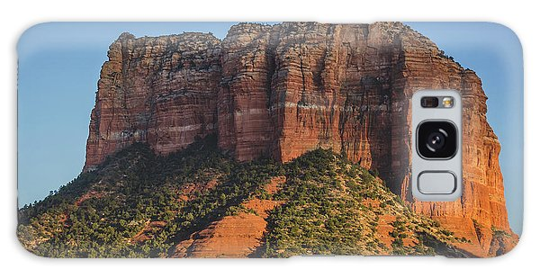 Courthouse Butte At Sunset Galaxy Case