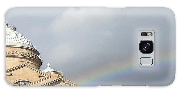 Courthouse Rainbow Galaxy Case by Christina Verdgeline